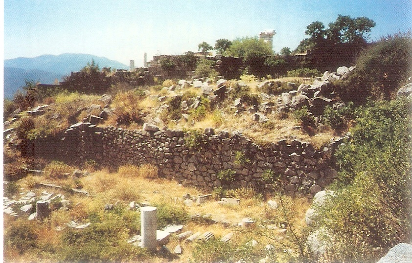 老底嘉教會廢墟 Ruins of the church in Laodicea