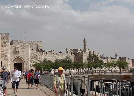 Jaffa Gate and David's Tower 大衛塔